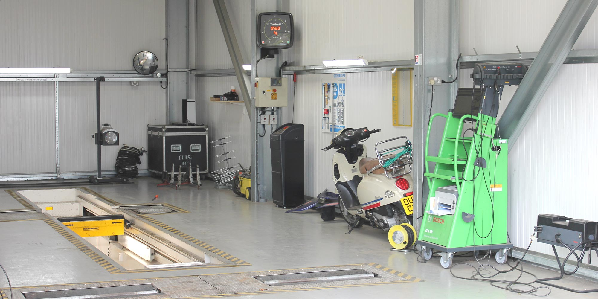 topcats racing mot testing station