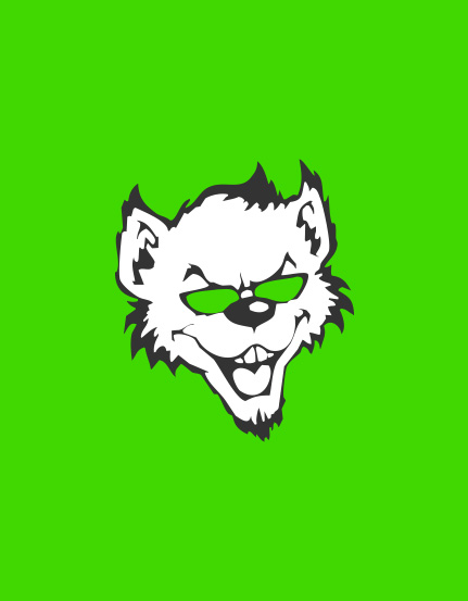 topcats racing logo on green backdrop